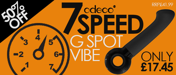 Half Price Odeco 7 Speed G Spot Vibrator