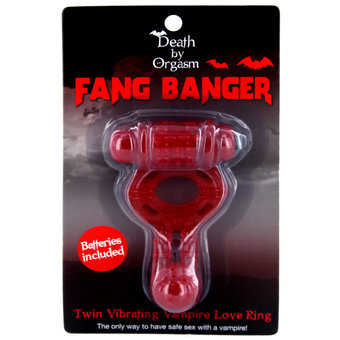 Fiendishly Scary Vibrating Cock Ring – Perfect For Halloween