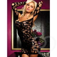 seamless stretch lingerie mini dress