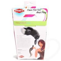 Frisy Faux fur anal butt plug