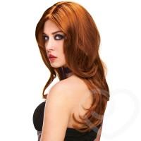 straight or wavy look long wig