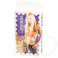 Jenna Jameson 3 hole blow up sex doll