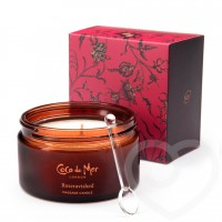 Coco de Mer Rose ravaged massage candle