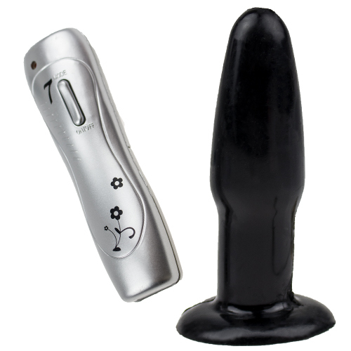 A Small But Pleasing Vibrating Butt Plug